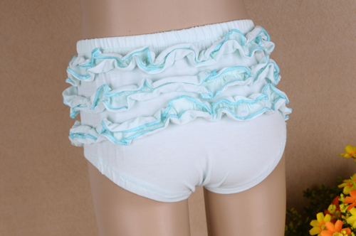 Hot Cute Cotton Ruffle Baby Bloomers With Diaper Cover