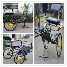 2 wheels mini horse carriage/pony horse carriage