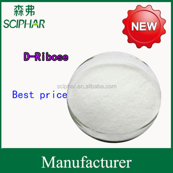 High quality D-ribose pharmaceutical grade
