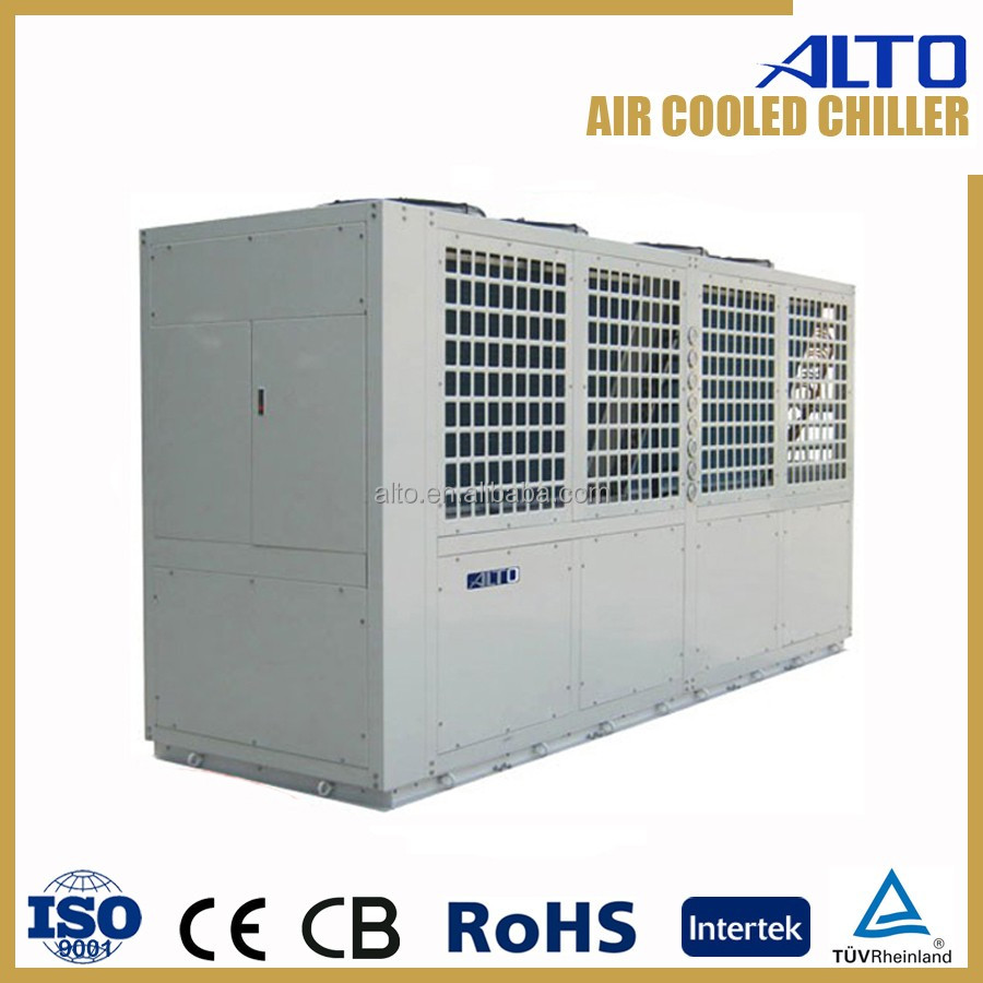 High efficiency air cooled screw chiller 152kw 3ph ce 3c