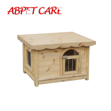 Fashion popular Pet garden wood dog cage