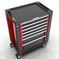 China Kinbox 7 Drawer Mobile Cabinet For Garage Or Home Storage