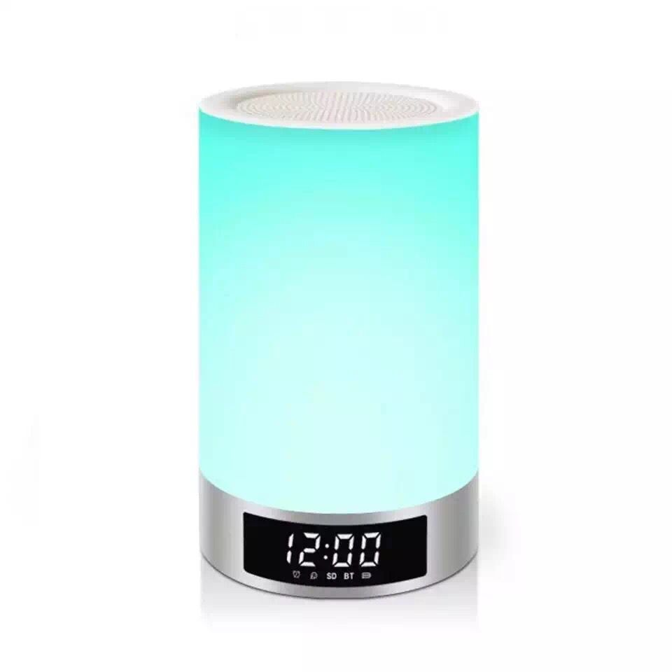 Creative Atmosphere Intelligent Touch Lamp Bluetooth Stereo Lamp The New Speaker LED Lamp of The Head of A Bed Sound