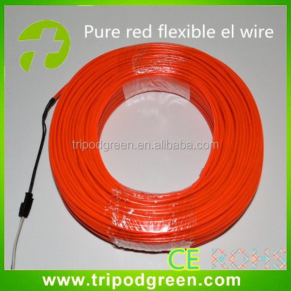 el wire sewable for clothing decoration/sewable el wire wholesale