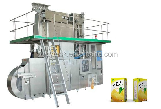 Good quality aseptic brick carton filling machine price