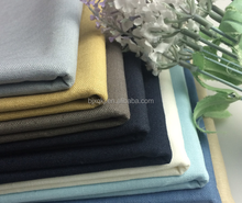 Linen cotton clothing pants linen cotton solid color thick linen for pants