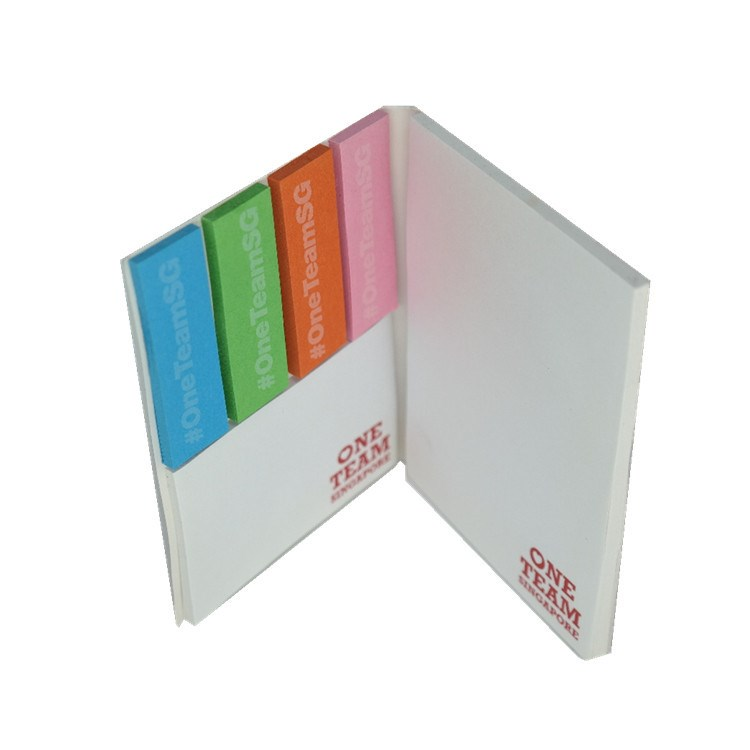 Chinese supplier best price custom printing a4/a5 legal memo sticky notepad