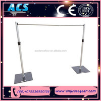 ACS wedding backdrop stand, portable backdrop stands, used pipe and drape for sale