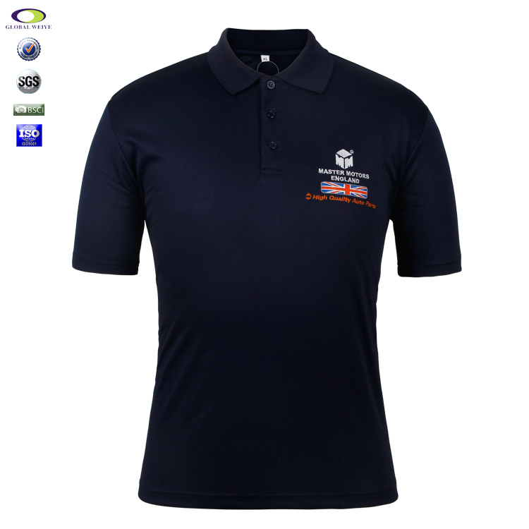 Custom Embroidery Branded Polo Shirts Shenzhen