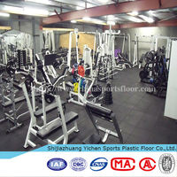 Durable Exercise Used Rubber Mats For Gym Heavy Equipment