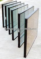 heat insuating sound proof window glass with insulated glass 6mm+6/9/12A+6mm,size 1500*900mm