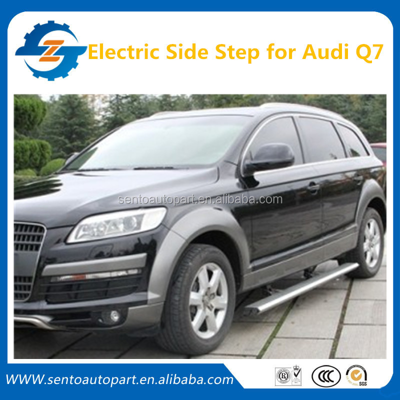 Wholesale ! 4x4 Car Accessories Electric Side Steps/Runing Board/side step for Au-di Q7 2013-2015