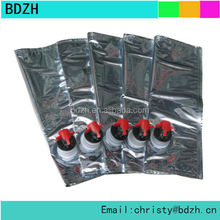 Wholesale wine bags/6 bottle wine bag/empty bag in box