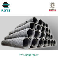 5.5-12mm steel wire rod sae 1006 saw 1008 low carbon wire rod