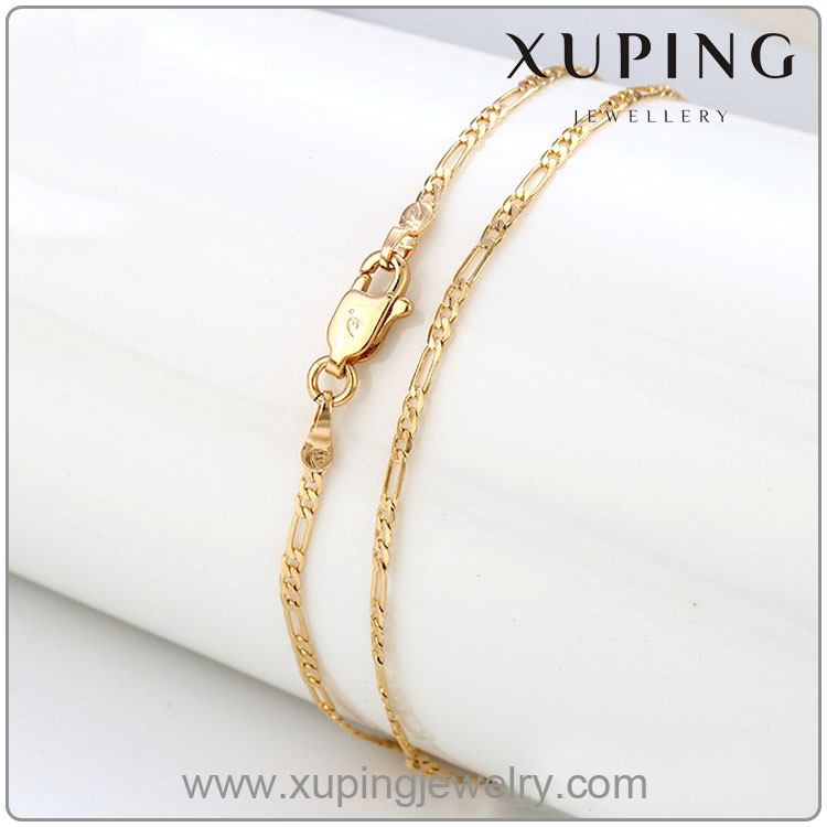 42296 xuping fashion 18K gold colorJewelry necklace fake gold chains