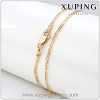 xuping fashion 18K gold colorJewelry necklace chain 42296