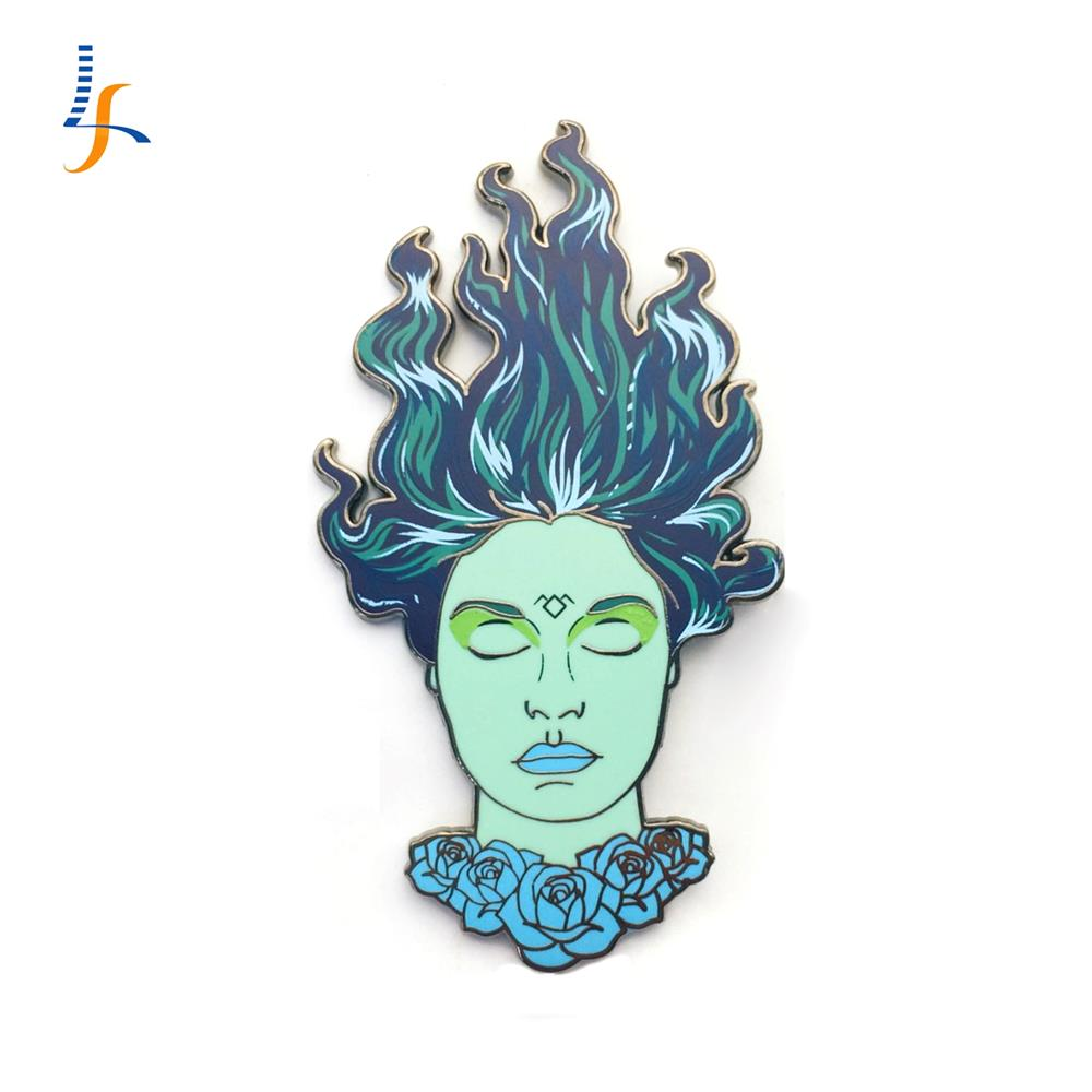 Custom Enamel Pin Clothes Pin Soft Enamel Pin