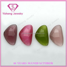 Half Moon Shape Facets Cheap Price Cat's Eye stone