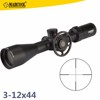 Marcool Glass Etched Reticle 3-12x44 Scopes Hunting Optical Sight Riflescope Mil Dot