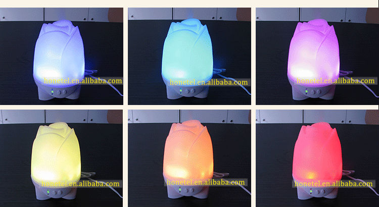 2018 Trending Product HTJ-2032 Mini Portable LED Essential Oil Diffuser Aroma Diffuser
