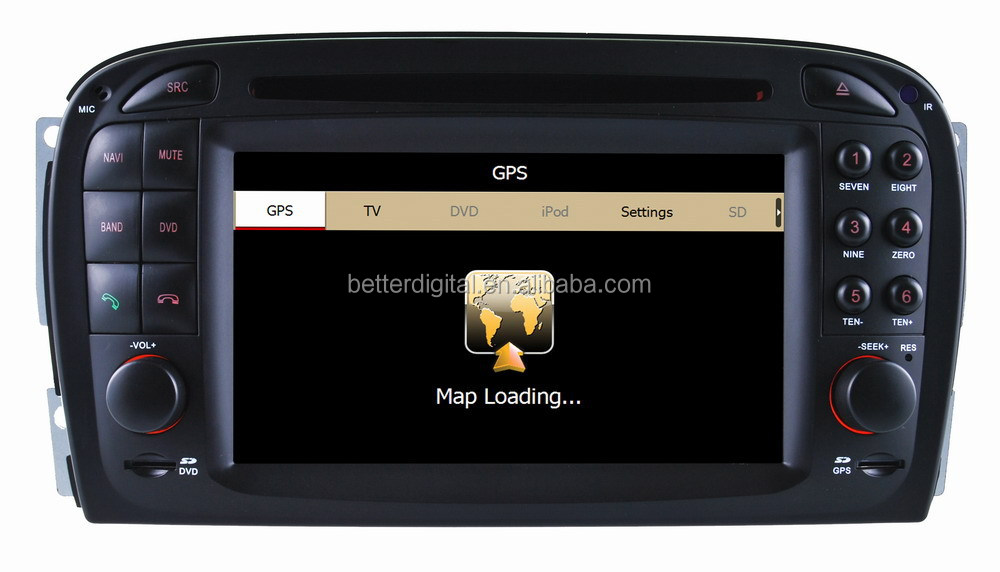 For Mercedes SL R230 car radio