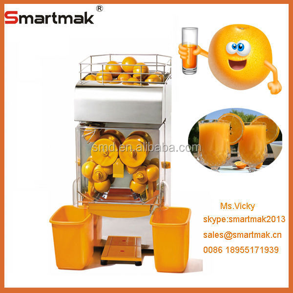 Stainless steel automatic commerical citrus juicer,making machine automatic orange juice