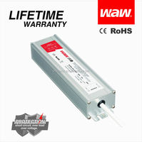 Constant voltage 60w led driver 24v 2.5a waterproof electronic led driver