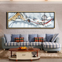 guangzhou Factory directly wholesale Sale Modern Abstract Oil Paintings for Living Room
