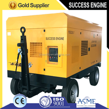 China Diesel Portable Screw Air Compressor for sale