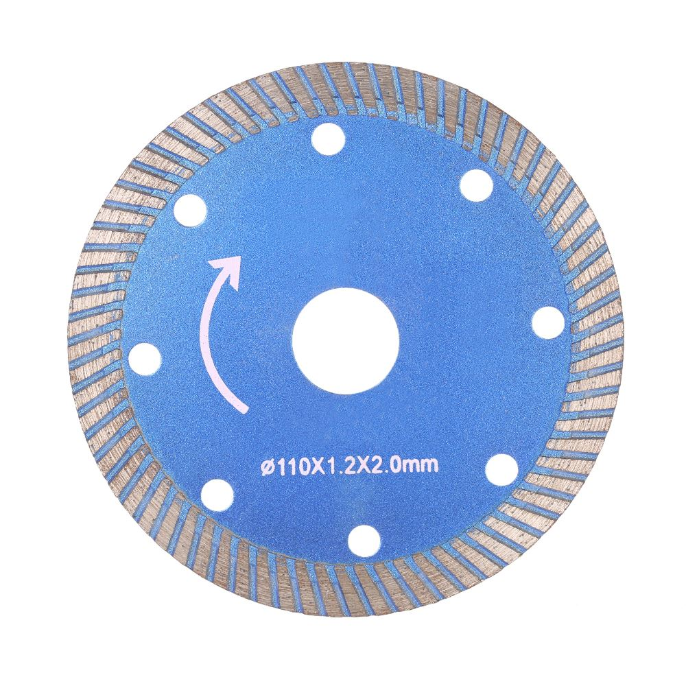 Diamond Cutting Disc Saw Blade Continuous Turbo Diamond Blade 20mm Inner Diameter Microlite Incising For Angle Grinder