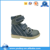 Hard Sole Arch Support Buckle Strap Medical Orthopedic Sandals Shoes For Kids Boys