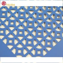 Punching hole anodizing aluminum perforated metal panels for walls