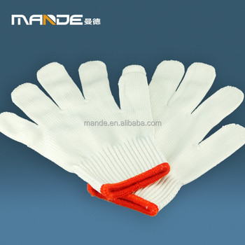 No.1707011 low price wholesale microwave kiln gloves 100% cotton polar fleece glove