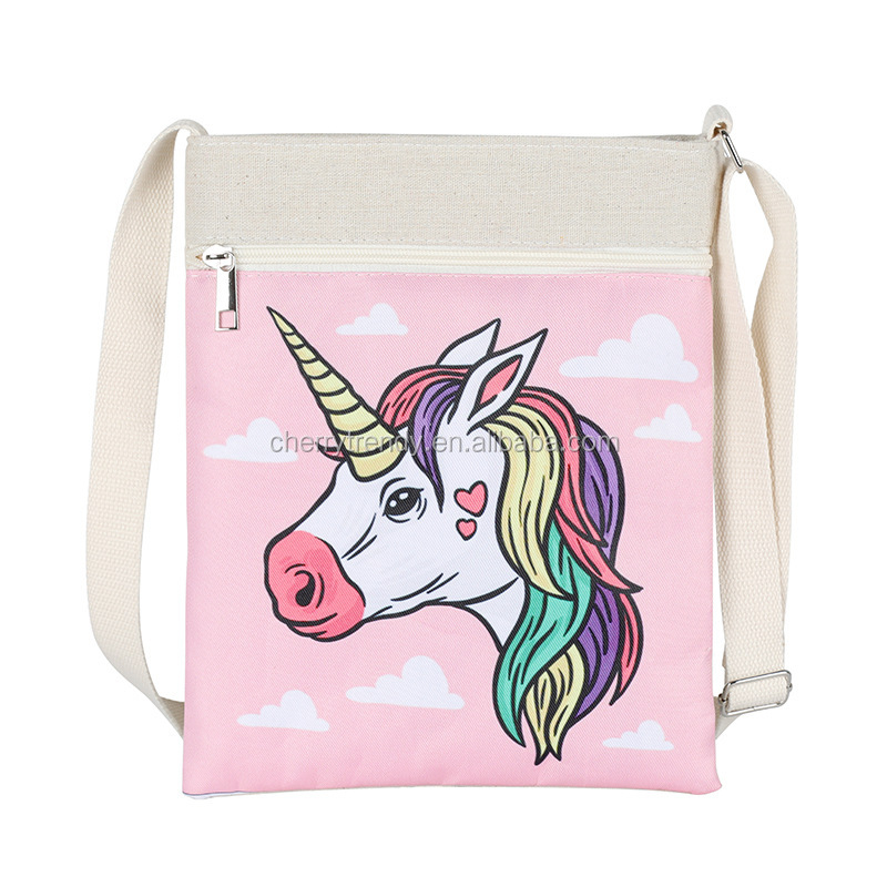 Unicorn Messenger Bag Shoulder Tote Casual Bags Handbags