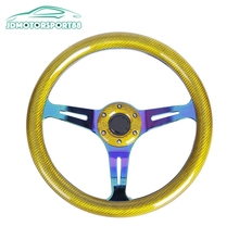 JDMotorsport88 Gold Billet Replacement Custom Steering Wheels For Sale