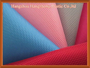 1680D PVC Coated Polyester Oxford Fabric For Bag