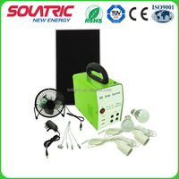 10W rechargeable Home Solar Electricity Generation System