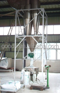 machine fabrications cassava flour