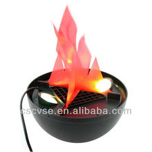 Fake flame lighting / silk flame light / manufactured in the factory