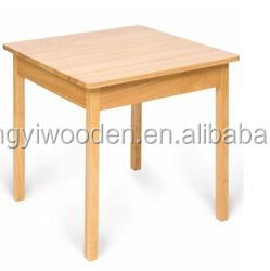 Simple design multi-functional wooden table wholesale