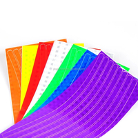 colourful Wheel Rim Stripe new Reflective Decal Tape Sticker for Car Motorcycle Cycling Bike Bicycle Reflective bicycle spokes