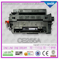 black print test page cartridge recycling manufacture CE255A