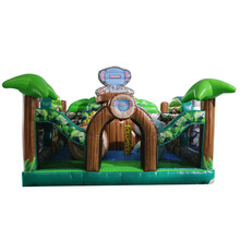 High quality PVC material and castle type adult inflatable bouncer inflatable jumper houses
