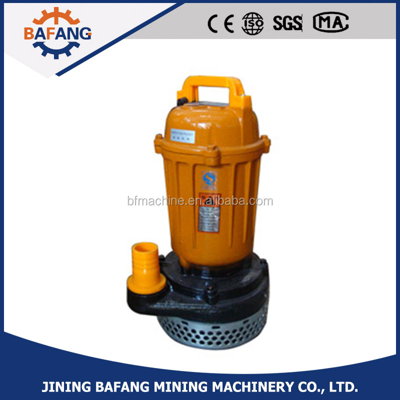 Electric small farming draw water submersible pump