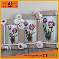 Newest exquisite decorative wooden photo frame