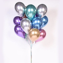 Wholesale 5pcs Multicolor <strong>12</strong>&quot; Fashionable Metallic Latex Ballon Balloons