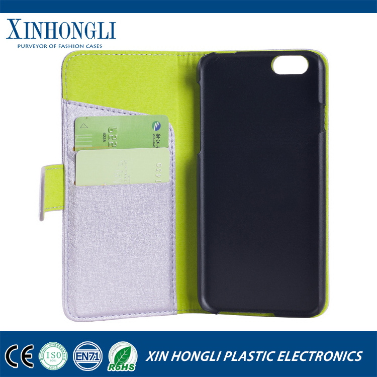 Special classical leather flip cover case for iphone 6