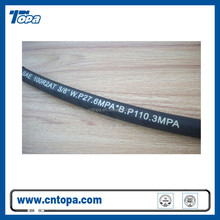 Sel custom printed stainless steel wire braided rubber air hose