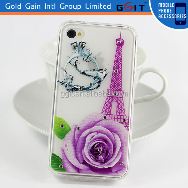 Wholesale Cell Phone Case For iPhone 4 4G, For iPhone 4 TPU Case
