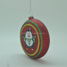 Christmas ball with joy bird from Shenzhen factory